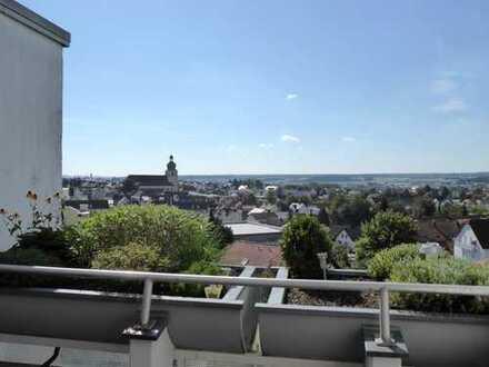 Traumwohnung mit herrlichem Ausblick über Amberg in sehr guter Wohnlage