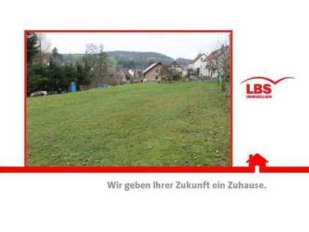 Ländliches Baugrundstück im Herzen von Bosenbach