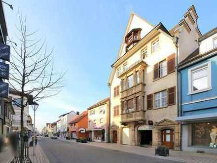 Gewerbeeinheit mit Top-Rendite in der Haupteinkaufsstraße von Bühl