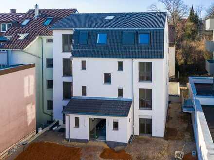 Bahnhofsnähe: Exklusive 4-Zimmer-Neubauwohnung mit Einbauküche
