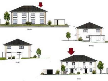 Neubau-Erstbezug: Moderne DHH mit Garage und kleinem Garten