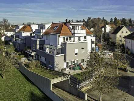 Penthouse-Flair ! Bezaubernde 3,5 Zimmer-Dachgeschosswohnung in Top Lage von Senden