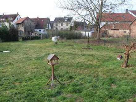 827m² großes Abrissgrundstück in Aschaffenburg-Obernau