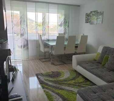 Sehr schöne helle 2-Zimmer-Wohnung in Rottweil-Göllsdorf in Aussichtslage.