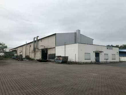 Industriehalle mit Büroanbau ca. 2.300 qm auf Grundstück 5.000 qm / 9.200 qm zu vermieten