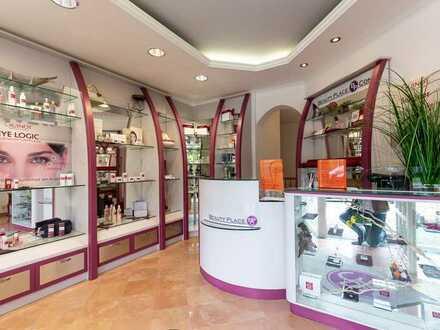 Bekannte Parfümerie mit medizinischer Fußpflege sucht Nachfolger/-in in Top Lage Allach