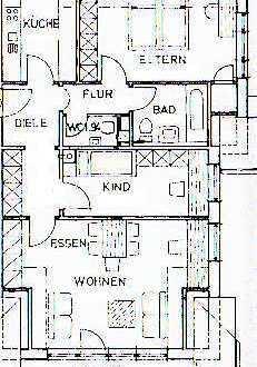 Tolle Dachgeschosswohnung mit EBK und TG