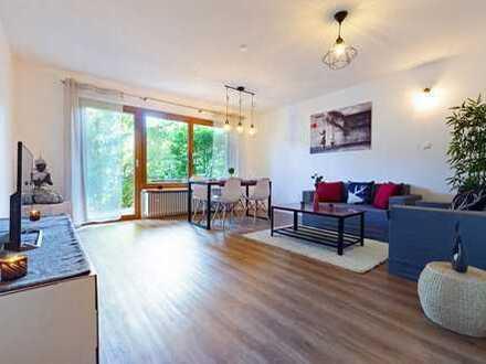 Exklusiv renovierte 4 Zimmer Wohnung eingebettet in grüner Oase / Göggingen / Nähe Kaufland