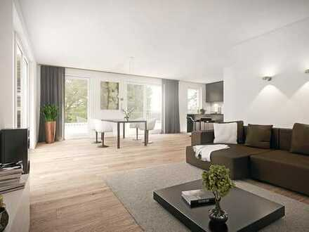 Großzügig und offen geschnittene 2-Zimmer-Wohnung mit großem Wohn-/Essbereich & Balkon