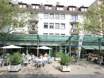 Fußgängerzone: 103m² Verkaufsfläche mit großer Fensterfront