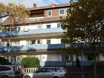 TOPLAGE! Gepflegte 3- Zimmerwohnung mit 2 Balkonen in FFM- Oberrad!