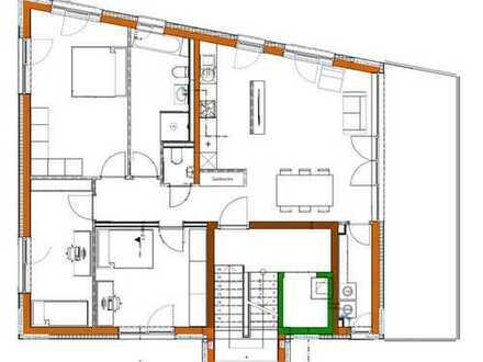 Helle, neuwertige 4-Zimmer-Wohnung mit Aufzug, Balkon und EBK in Leimen