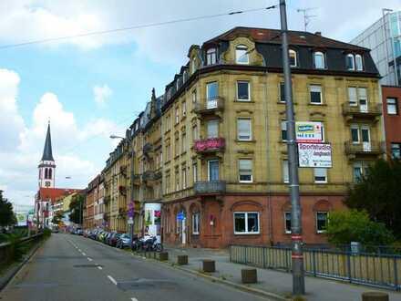 Dachgeschoß 5-Zimmer-Wohnung in Mannheim Innenstadt
