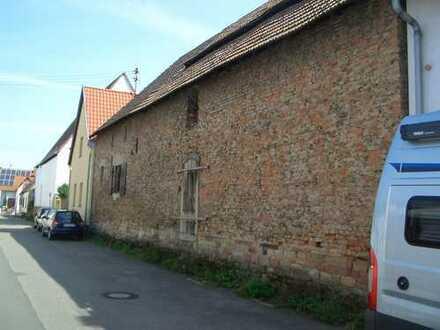 Eine alte Scheune zum Ausbauen in guter Lage von Neuhofen.