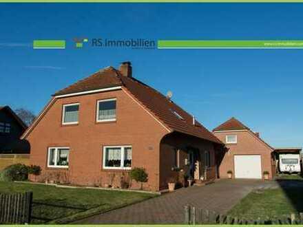 Einfamilienhaus mit großzügiger Garage im Herzen von Ostfriesland!