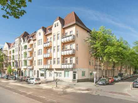 Hügelschanze: WG-Wohnung für 2 Personen hell, Balkon, im Grünen & verkehrsgünstig. Aufwändige EBK!
