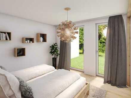 3 Zimmer Erdgeschosswohnung mit knapp 100 m² Gartenanteil