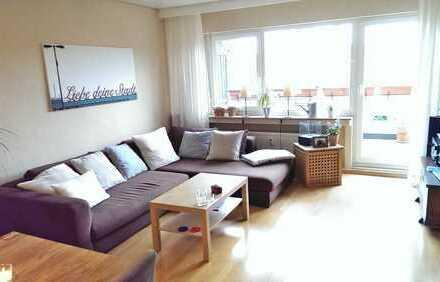 Helle 3 ZKDB-Wohnung im Zentrum von Bad Honnef, 82 qm, 2 Balkone, Tiefgaragenstellplatz (optional)