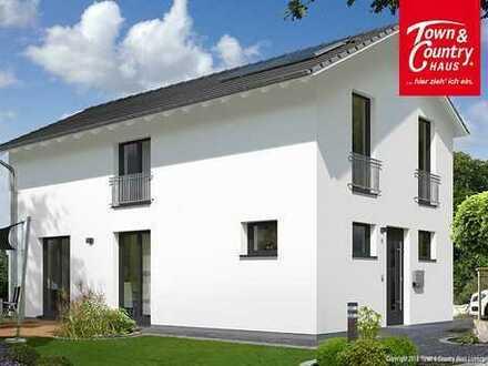 Neubauvorhaben Einfamilienhaus, massiv gemauert, 5 Zimmer