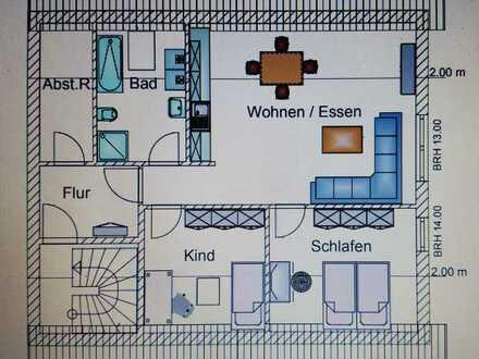 Hochwertige 3 ZKB-Einliegerwohnung in Neulußheim zu vermieten
