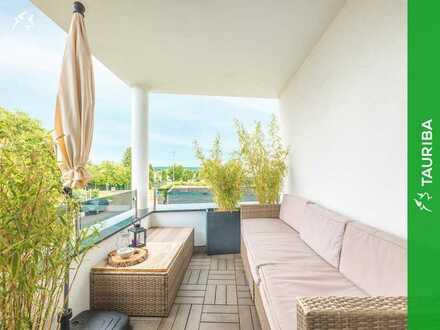 +++Luxuriöse & zentrale Traumwohnung mit großem Balkon und Tiefgaragenstellplatz+++