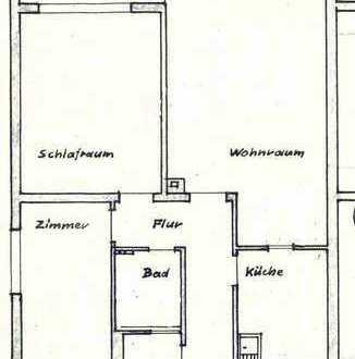 Helle, ruhige 3-Zimmerwohnung mit Balkon