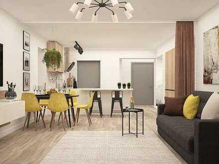 2 Zimmer-Wohnung | Erstbezug nach Kernsanierung/Denkmal