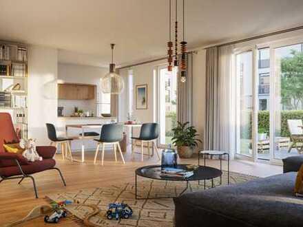 Barrierefreie 3-Zimmer-Wohnung mit Balkon