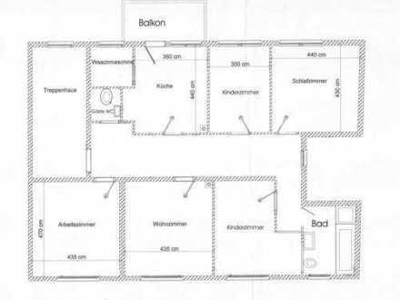 5 Zimmer, KDB, Gäste-WC, 140 m²