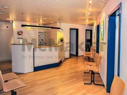 Gut vermietete Arztpraxis in zentraler Lage von Bensheim