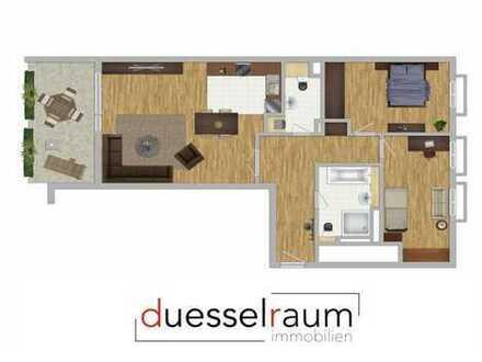Heinrich Heine Gärten: repräsentative 3-Zimmer-Neubau-Wohnung!