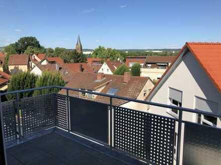 Neubauwohnung mit 3,5 Zimmer, EBK und Balkon