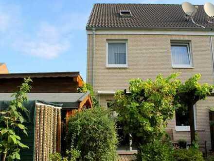 Sehr gepflegte Doppelhaushälfte, ruhig gelegen, mitten in der Innenstadt von Recklinghausen!