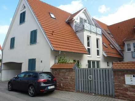 105 m2 Maisonette-Whg in Feudenheim, von der Sauna aus Fernsehen schauen, ideal für Singles o. Paare