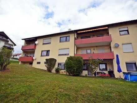 Elegante 3,5-Zimmer-Wohnung inkl. EBK u. Einzelgarage in idyllischer Wohnlage