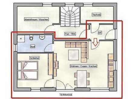 F&D | Neuwertige 2,5-Zimmer-Wohnung mit EBK & Terrasse