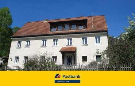 Viel Platz für Hund und Katz! Großes Einfamilienhaus für handwerklich Begabte in Simmelsdorf OT