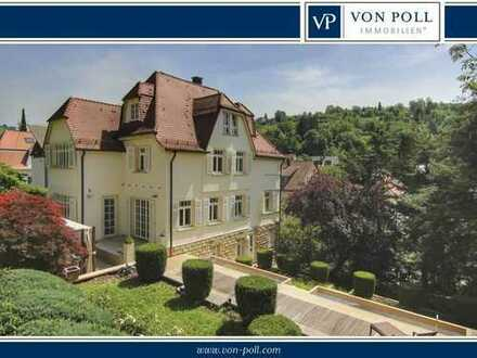 Elegante Gründerzeitvilla am Fuße der Weinberge.
