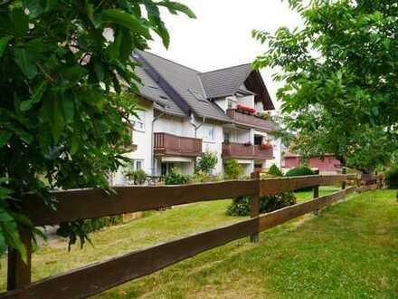 Wunderschöne 2-Raumwohnung mit Balkon, ländlich gelegen!