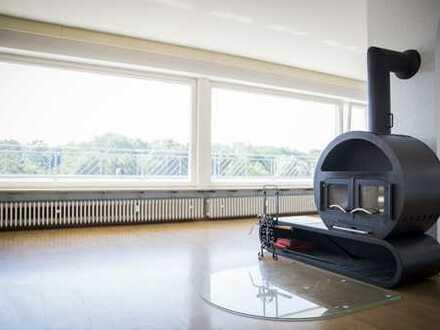 Penthouse mit 360° Rundumblick in Bestlage in Neu-Ulm (Stadt)
