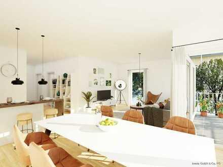 Ruhig wohnen - Mitten im Leben - 3,5 Zimmer Neubauwohnung mit Süd/Ost Balkon