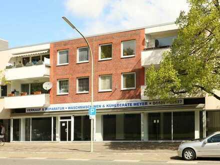 TT bietet an: Verkaufs- /Ladenfläche in verkehrsgünstiger Lage von Wilhelmshaven!