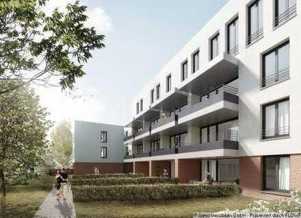 Neubau Erdgeschosswohnung mit Gartenanteil - Wohnen im Kaiserquartier