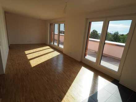 **PENTHOUSE-TRAUM** Helle 5-Zi.-Wohnung in Neubau mit großzügigen Dachterrassen und tollem Ausblick