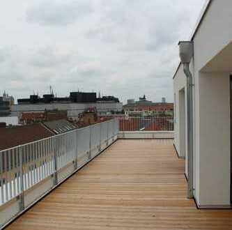 Magniviertel: Exkl. Penthouse mit 360 ° Blick über BS, eigener Aufzug, Fußbodenheizung und Parkplatz