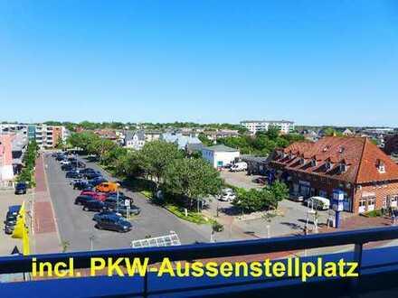 Barrierefrei zu erreichende Wohnung mit OST-LOGGIA und PKW-Stellplatz