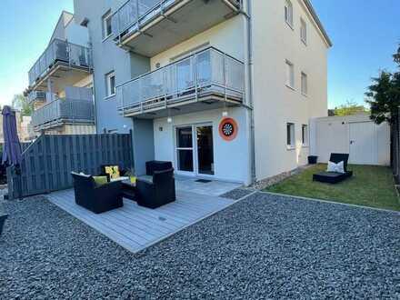Einmalige Chance! Erdgeschosswohnung mit Einbauküche, eigener Garten & Garage in Kreuzau!