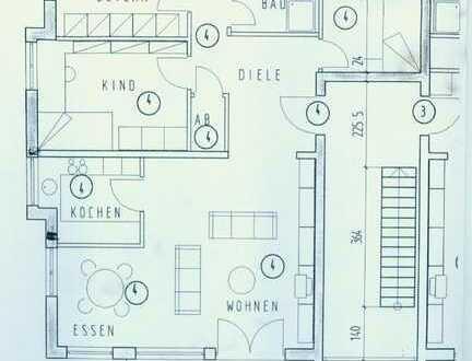 Schöne helle vier Zimmer Wohnung in Holzgerlingen