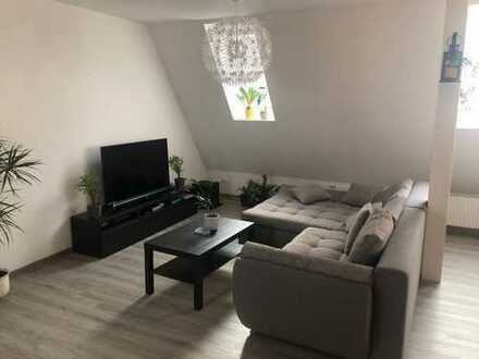 Stilvolle, geräumige 2-Zimmer-Maisonette-Wohnung mit Balkon und EBK, Braunschweig