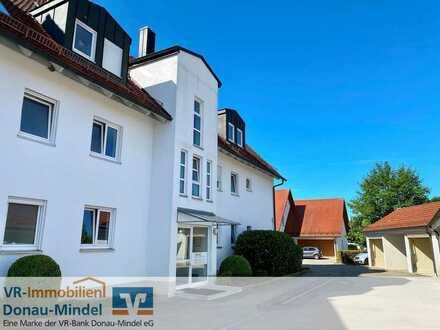 Ideal für Kapitalanleger! Schöne Erdgeschosswohnung mit großem Garten in Ichenhausen!